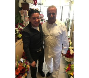 Juan Juan from Juan Juan Salons in Woodland Hills CA, Abbey's Flower Garden