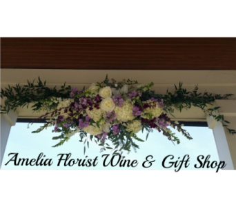 Wedding Arch in Amelia OH, Amelia Florist Wine & Gift Shop