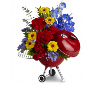 WEBER King of the Grill by Teleflora in Edmonds WA, Dusty's Floral