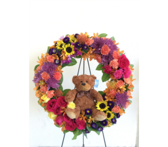 Sweet Dreams Wreath in Wellington FL, Wellington Florist