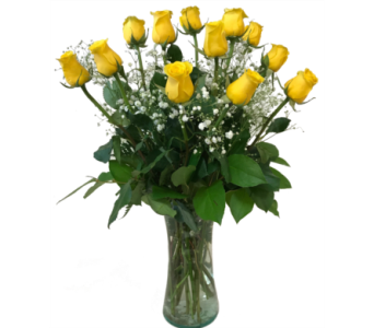 Dozen Yellow Rose Elegance by Country Greenery in Moorhead MN, Country Greenery