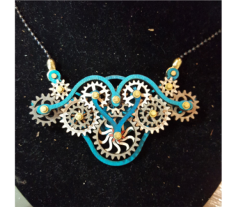 Gear Garb-Kinetic Jewelry that Moves! - Teal in Neenah WI, Sterling Gardens