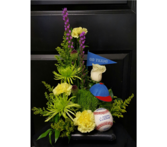 Take Me Out to The BallGame in Albuquerque NM, Silver Springs Floral & Gift