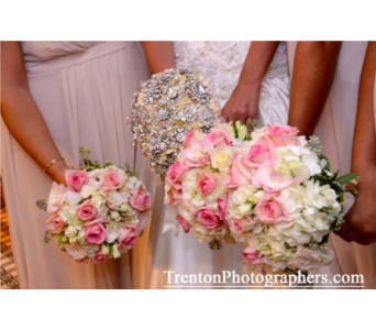 Brooch Bridal Bouquet in Somerset NJ, Flower Station