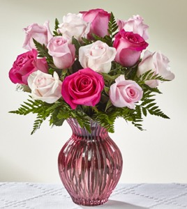 The Happy Spring™ Mixed Rose Bouquet in Sapulpa OK, Neal & Jean's Flowers, Inc.