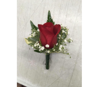 Rose Boutonniere in Sydney NS, Mackillop's Flowers