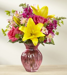The Happy Spring™ Bouquet in Sapulpa OK, Neal & Jean's Flowers & Gifts, Inc.