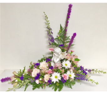 Peaceful Angel Garden Arrangement in Wyoming MI, Wyoming Stuyvesant Floral