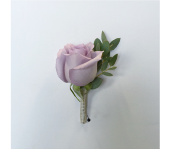 lavender rose bouttoniere in Pottstown PA, Pottstown Florist