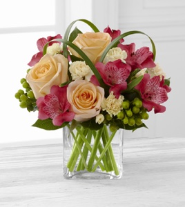 The All Aglow� Bouquet by Better Homes and Gardens in Sapulpa OK, Neal & Jean's Flowers & Gifts, Inc.
