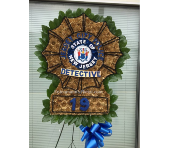 State of NJ Detective Logo in Jersey City NJ, Entenmann's Florist