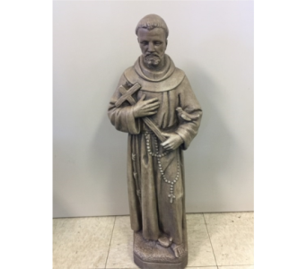 St. Francis Statue in Sterling Heights MI, Sam's Florist