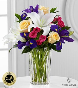 The New Day Dawns� Bouquet by Vera Wang in Sapulpa OK, Neal & Jean's Flowers & Gifts, Inc.