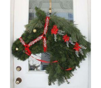 December Winter Wreath 2018 in Virginia Beach VA, Fairfield Flowers