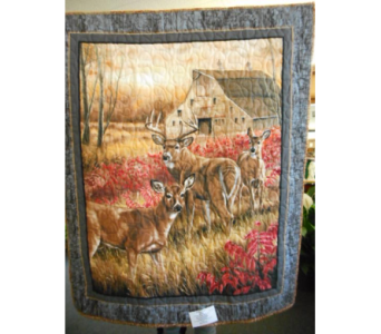 Family of Deer with Barn Wall Hanging in Johnstown PA, Schrader's Florist & Greenhouse, Inc