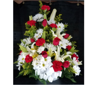 MTF628 One Sided A Frame Arrangement in Mililani Town HI, Mililani Town Florist