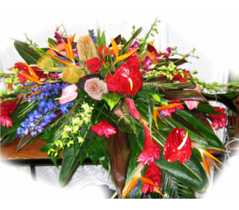 Majestic Tropical Flowers in Lake Charles LA, A Daisy A Day Flowers & Gifts, Inc.