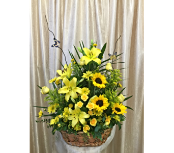Summer Field Basket by Main Street Florist in Orange CA, Main Street Florist