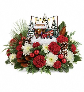 Thomas Kinkade's Family Tree Bouquet in Grand Rapids MI, Rose Bowl Floral & Gifts