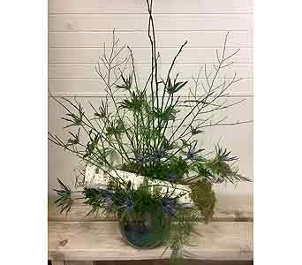 Outdoorsy in Blues in Northfield MN, Forget-Me-Not Florist