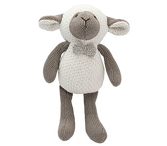 Crochet Lamb Toy in Detroit and St. Clair Shores MI, Conner Park Florist