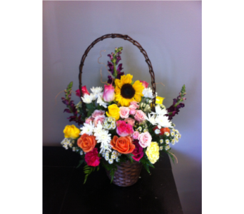 Basket Full Of Happiness in Andover MN, Andover Floral
