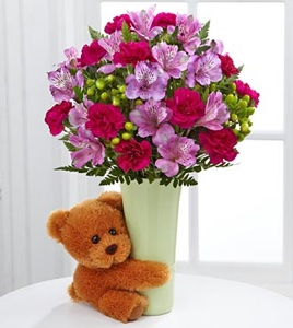 The Big Hug® Bouquet - VASE INCLUDED in Sapulpa OK, Neal & Jean's Flowers & Gifts, Inc.