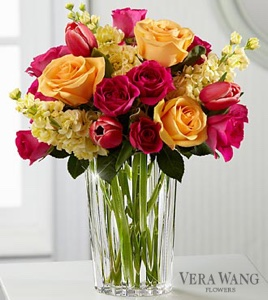 The Beauty and Grace� Bouquet by Vera Wang in Sapulpa OK, Neal & Jean's Flowers & Gifts, Inc.