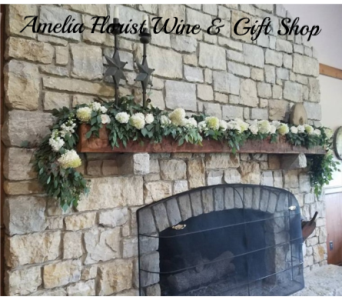 Mantel Garland in Amelia OH, Amelia Florist Wine & Gift Shop