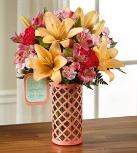 The Peace, Comfort and Hope� Bouquet by Hallmark  in Sapulpa OK, Neal & Jean's Flowers & Gifts, Inc.