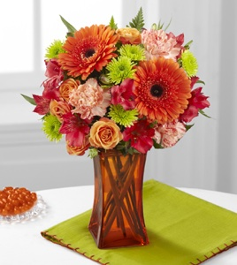 The Orange Escape Bouquet  in Sapulpa OK, Neal & Jean's Flowers & Gifts, Inc.