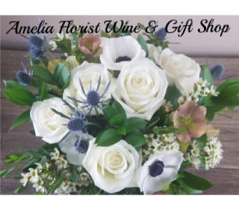 Silk Bridal Bouquet in Amelia OH, Amelia Florist Wine & Gift Shop