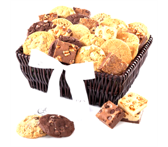 Cookie Brownie Basket in Columbia TN, Douglas White Florists