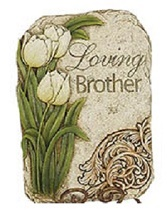 Loving Brother Stone in Martinsville IN, Flowers By Dewey