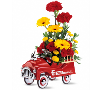Teleflora's Fire Engine Bouquet in Fairfield OH, Novack Schafer Florist