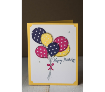 Happy Birthday - Yellow in Granite Bay & Roseville CA, Enchanted Florist