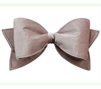 Allstate Floral Taupe Velvet Bow in Bellevue WA, CITY FLOWERS, INC.