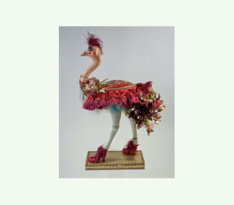 Katherine�s Collection Ostrich with floral Figurin in Bellevue WA, CITY FLOWERS, INC.