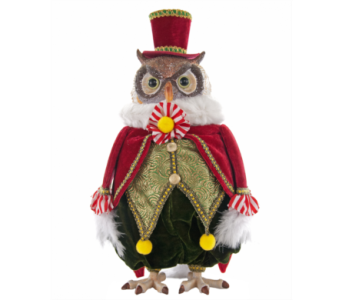 Katherine�s Collection  NOEL Table top Owl in Bellevue WA, CITY FLOWERS, INC.