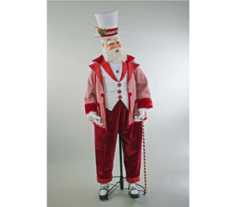 Katherine�s Collection  Spectacular Santa, Life Si in Bellevue WA, CITY FLOWERS, INC.