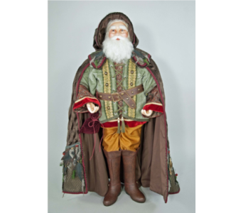 Katherine�s Collection Woodland Santa Doll 36 inch in Bellevue WA, CITY FLOWERS, INC.