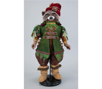 Katherine�s Collection Woodland Raccoon Doll   in Bellevue WA, CITY FLOWERS, INC.