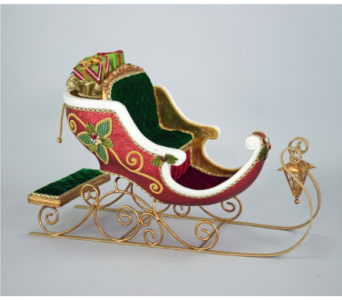 Katherine�s  Collection Table top Sleigh in Bellevue WA, CITY FLOWERS, INC.