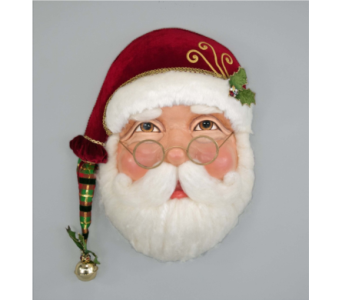 Katherine�s  Collection Santa Wall Mask  in Bellevue WA, CITY FLOWERS, INC.