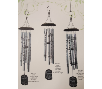 Windchimes in Vandalia OH, Jan's Flower & Gift Shop