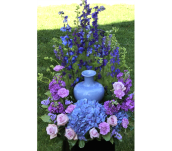 Lavender Blue Tribute in Winchester VA, Flowers By Snellings