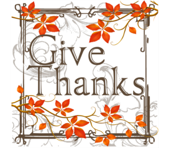 Give Thanks in Isanti MN, Elaine's Flowers & Gifts