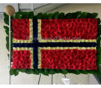 Norwegian Flag in Jersey City NJ, Entenmann's Florist