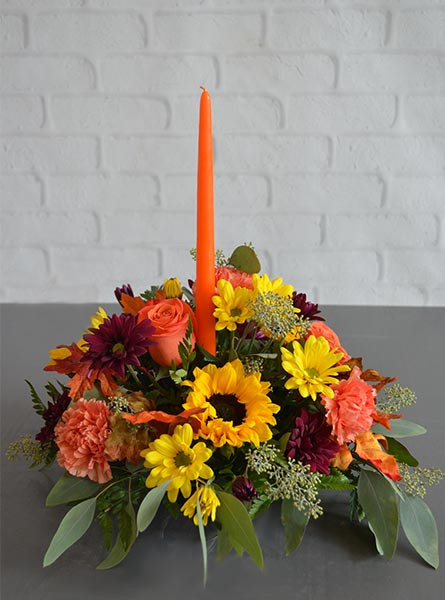 Autumn Brights Centerpiece in Clarks Summit PA, McCarthy-White's Flowers