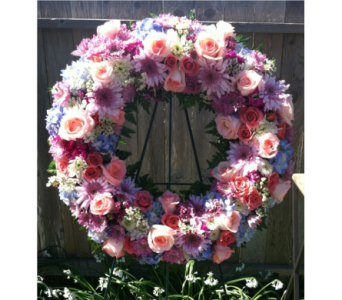 Peacefully Pastel   in Arcata CA, Country Living Florist & Fine Gifts